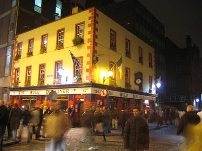 Dublín, bullicio en las calles
