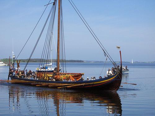 Reconstrucción de barcos vikingos en el museo de Roskilde - 3viajes