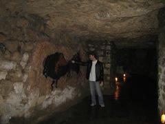 Pinturas rupestres en la cueva de Budavar