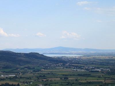El lago Trasimeno, testigo mudo del paso de Aníbal por Italia