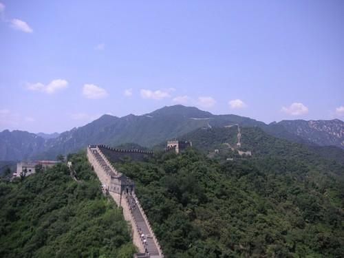 Vista desde la muralla de Mutianyu
