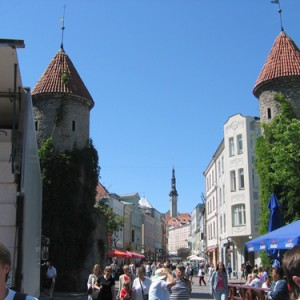 Tallinn, la capital medieval del norte de Europa