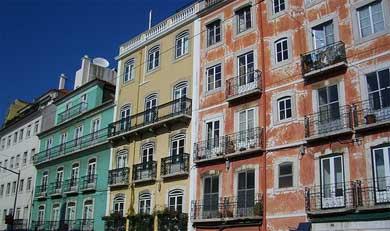 Fachadas de Lisboa