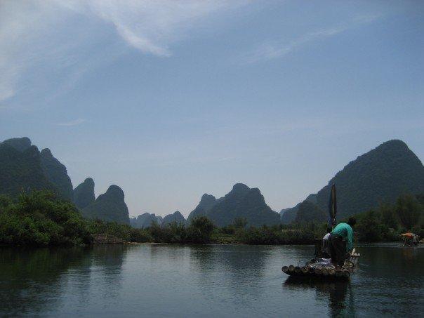 Yangshuo rafting