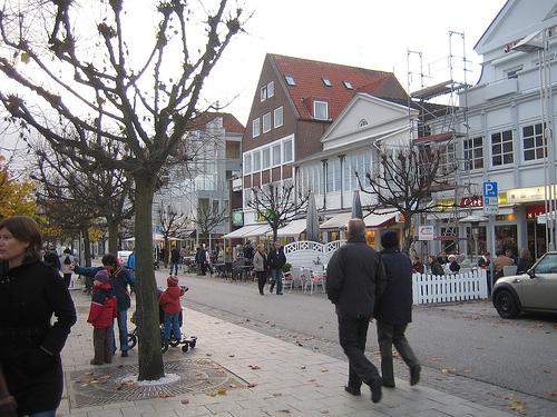 Paseo marítimo de Travemünde