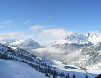 Vista Alpe D'Huez