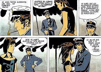 Viñetas de Corto Maltés