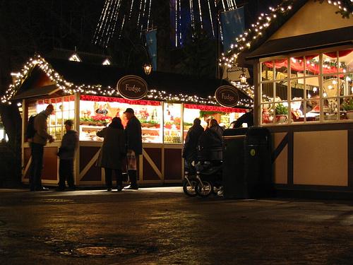 Mercadillo de Navidad de Göteborg en Liseberg