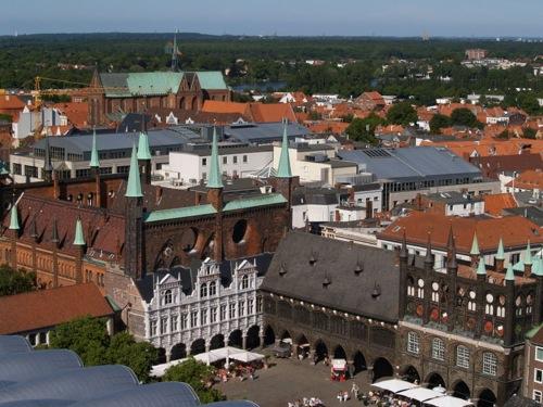 Plaza del Ayuntamiento de Lübeck