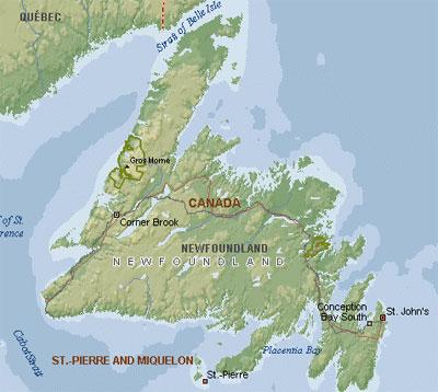 Mapa de Terranova