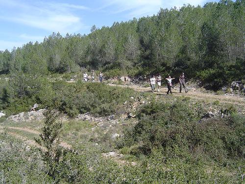Parque Can Grau ubicado en el Parque del Garraf