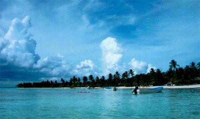 Mar turquesa en República Dominicana