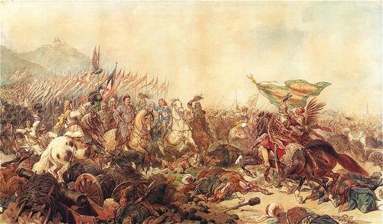 Juan III Sobieski en la batalla de Viena