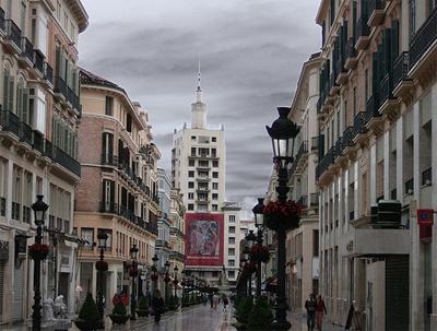 Calle Larios en Malaga