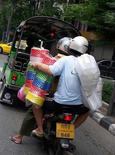 Motos en Tailandia
