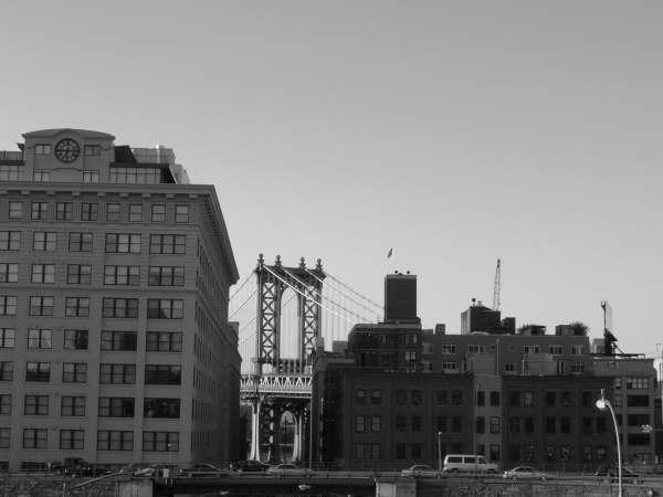 NY en blanco y negro