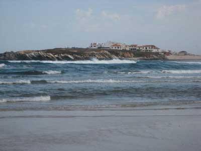 Playa de Paniche en Portugal