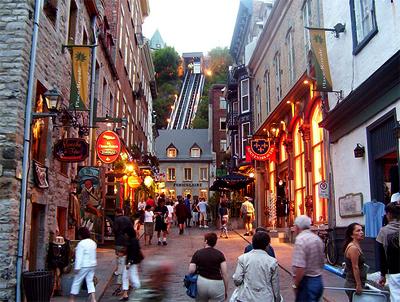 Basse Ville en Québec