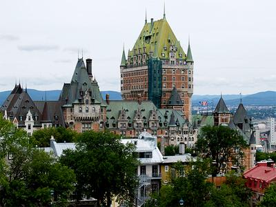 Castillo de Frontenac en Québec