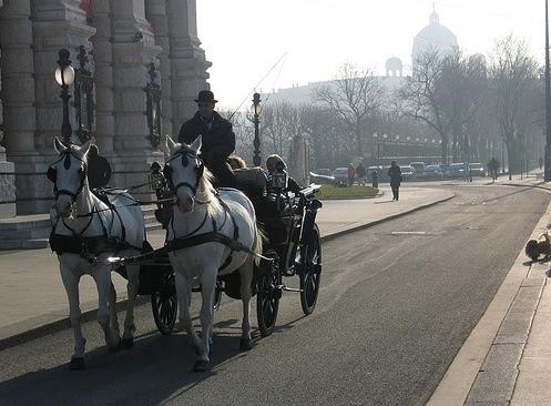 Ringstrasse bulevar en Viena