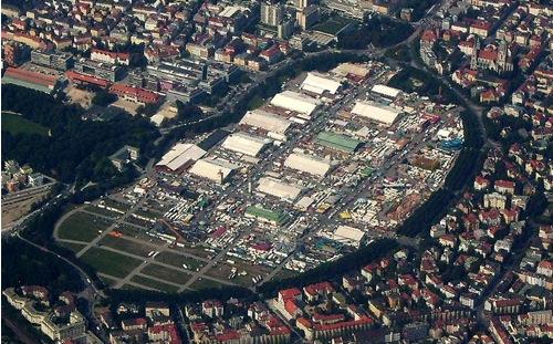 Emplazamiento del Oktoberfest en Munich