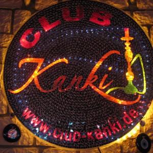 Club Kanki, fumando en pipa de agua en Frankfurt