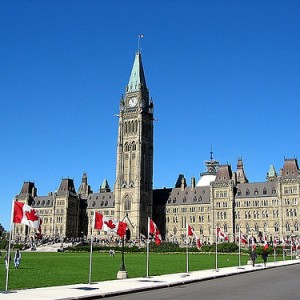 El Parlamento de Canadá, en Ottawa