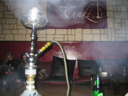 Pipa de fumar del Club Kanki