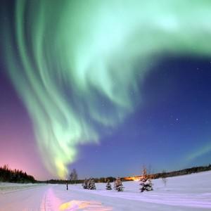 Viaje al polo norte a la caza de auroras boreales