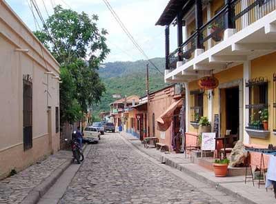 Calle de Copán