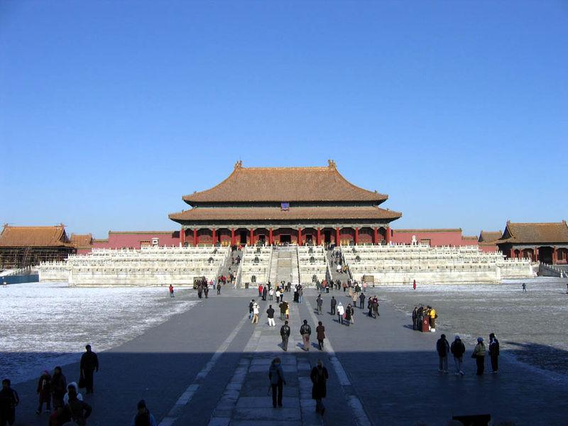 Palacio del emperador de la Ciudad Prohibida de Beijing
