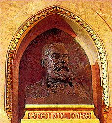 Busto de Imre Steindl