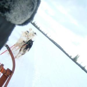 Deportes de invierno en Kiruna