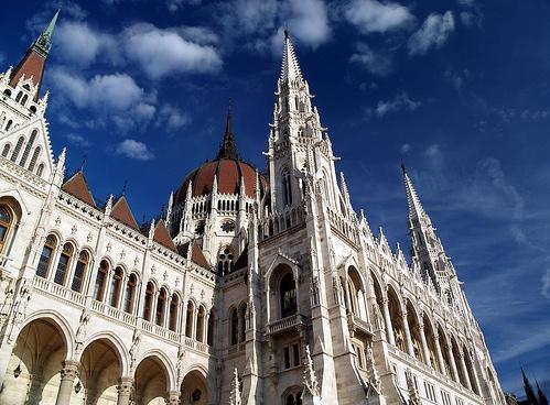 Estilo Neogótico del Parlamento de Budapest