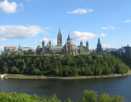 La Colina del Parlamento, en Ottawa