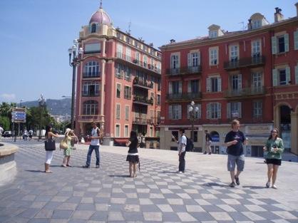 Place Massena, en Niza