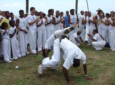 Capoeira en Salvador