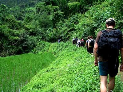 Trekking en Tailandia