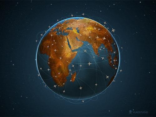 Earth Digital Art Hd Wallpaper: Fondos De Pantalla Para Viajeros
