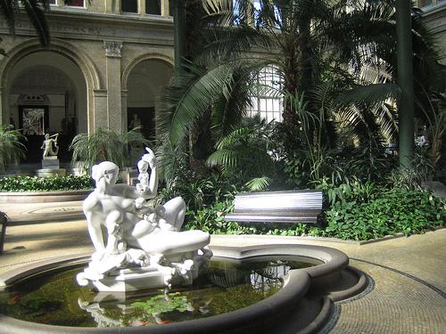 Jardín de la Gliptoteca de Copenhague