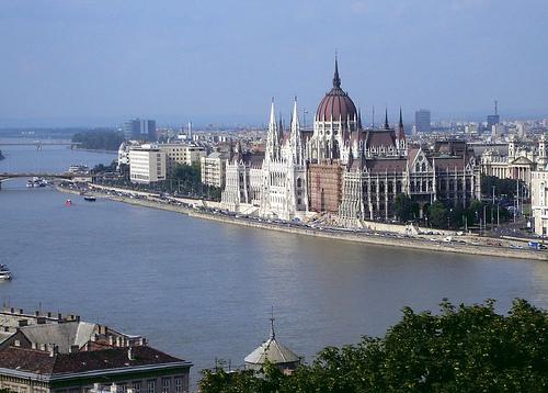 El Parlamento de Hungría, en Budapest