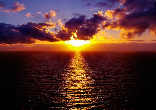 Resultado de imagen de imagenes puesta de sol