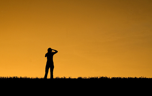 Disparando puestas de sol