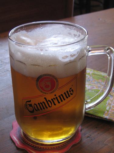 Cerveza Gambrinus