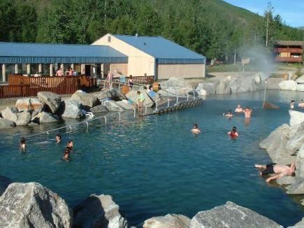 Resort de Alaska que funciona con energía geotérmica