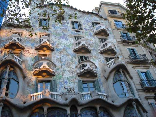 Casa Batlló de Antoni Gaudí, Barcelona