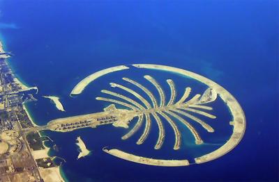 Islas palmera en Dubai