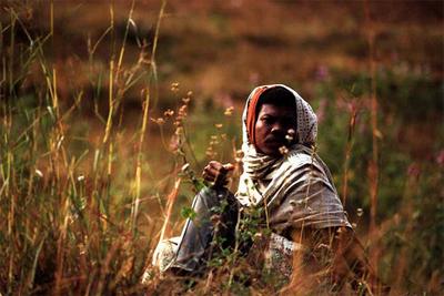 Hombre en Madagascar