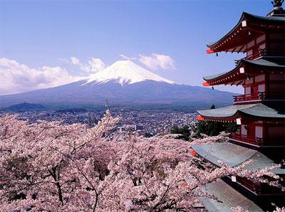 Fuji, la montaña sagrada de Japón