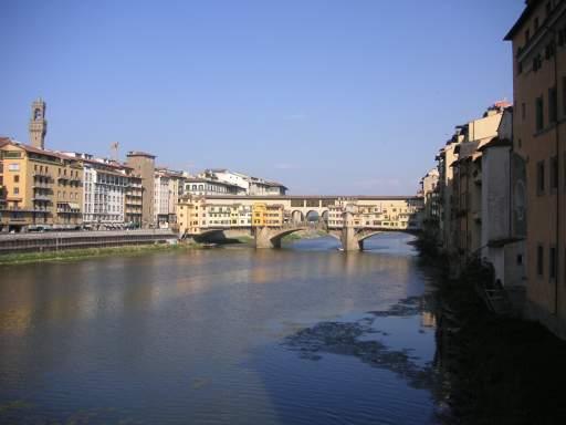 El ponte vechio de Florencia